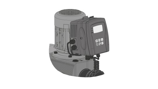 Detachable operating unit (HMI)